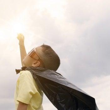 Kid Reaching For Stars
